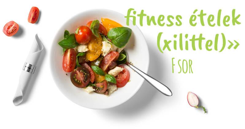 Fitness ételek (xilittel) - F sor