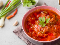 egy tál leves
